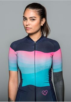 Maillot manches courtes Summit Turquoise WARSAW