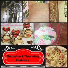 Throwback Thursday Link up Partyhttp://www.copperroofinteriors.com/2014/01/throwback-thursday-link-up-party.html