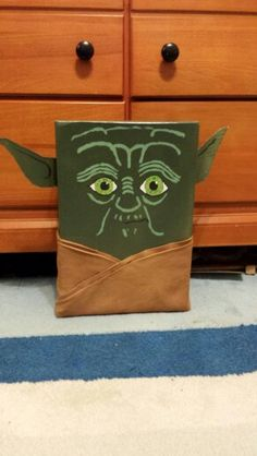 Yoda Valentine's Day box.