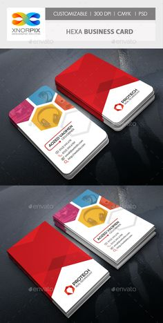 Business Card Template PSD - Easy to Edit