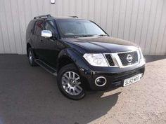 Used 2012 (62 reg) Black Nissan Pathfinder 2.5 dCi Tekna 5dr for sale on RAC Cars