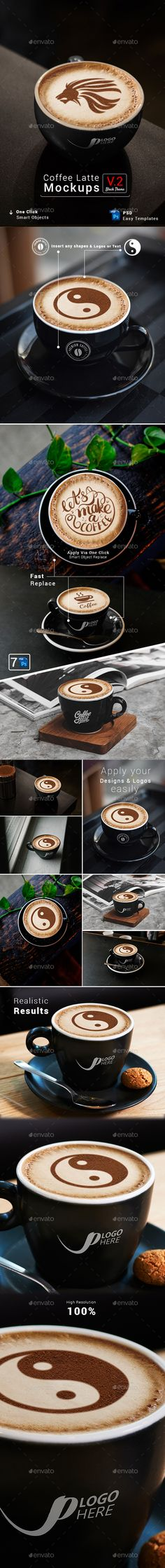 Buy Coffee Latte Mockups Theme by Media_Variety on GraphicRiver. Premium Coffee powder Mousse art cup mock-up pack for web or presentations imaging , hero images , sliders , and prin. Coffee Latte, Coffee Shop, Premium Coffee, Cup Art, Photoshop, Vector Shapes, Menu Design, Social Media Graphics, Food Menu
