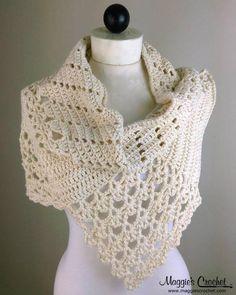 Lacy Cowls Crochet Pattern Set PDF Download - Maggie's Crochet