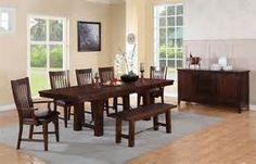 DINING ROOM - Clean Lines - minimal furniture.