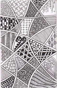 Easy Simple Zen Doodle Easy Simple Doodle Art Images