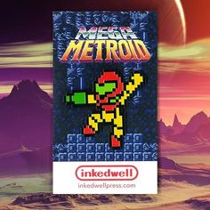 Repost @inkedwell  New pin! Mega Metroid features 8-bit Mega Man cosplaying as Samus Aran in her iconic Varia suit from the classic Nintendo game Metroid. On sale now in my shop and on Etsy. Link in profile. ------------------------------------------------------- #pingame #nintendo #capcom #metroid #megaman #cosplay #samus #retrogaming #gamergear #retro #videogames #nes #8bit #pindrop #enamelpin #lapelpin #pinsofig #pinstagram #pinoftheday #mega #inkedwell    (Posted by…