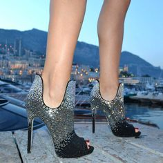 726957498bd Must-have heels this summer season. How hot are these ! Crazy Shoes