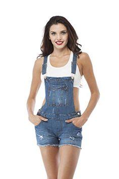 Denim Jean Distressed Overall Shorts (Small, Mediumblue ) Hollywood Star Fashion http://www.amazon.com/dp/B011T5QC4C/ref=cm_sw_r_pi_dp_NYqQwb0FJ523Z