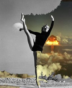 """Danced Out Of Existence"" by Vanitylife collage Soul Collage, Art Photography, Photo Art, Surreal Collage, Photo Collage, Photomontage, Dance Poster, Collage Artists, Collage Artwork"