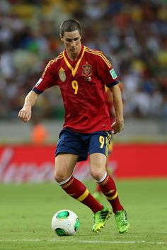 Fernando Torres with Spain national team. They may have lost, but i still love them <3 <3