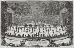 """La Fête """"Les Plaisirs de l'Ile Enchantée"""" donnée par Louis XIV à Versailles"""