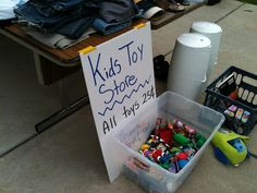 25 cent toys or make your own grab bag 4/$1.