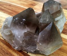 Smoky Quartz Crystal Cluster from Brazil (LARGE)