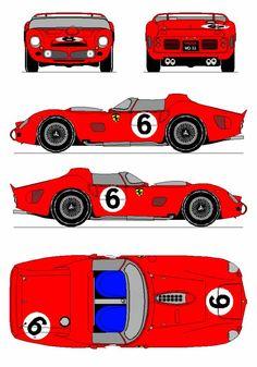 Gt Cars, Indy Cars, Car Drawing Kids, Paper Model Car, Alfa Romeo Logo, Classic Race Cars, Racing Events, Old Race Cars, Porsche Cars