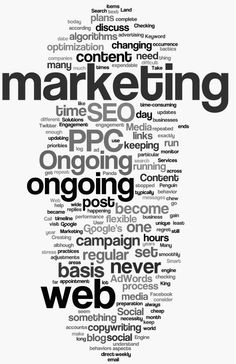 Ongoing SEO - Content, Social Media, PPC...