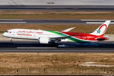 Royal Air Maroc Boeing Dreamliner CN-RGZ touching down at İstanbul-International, September (Photo: Steve Smith) Great Photos, View Photos, Istanbul New Airport, Boeing 787 9 Dreamliner, September 9, Aviation, Aircraft, Japan, Steve Smith
