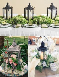 Love, love, love these lanterns! #weddingdecor #weddingideas {New York Wedding Consultant}