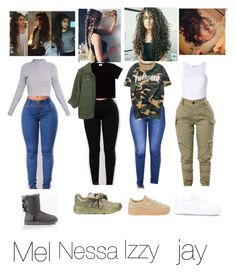 """Untitled #119"" by isabel204 on Polyvore featuring UGG, NIKE, Puma and WithChic"
