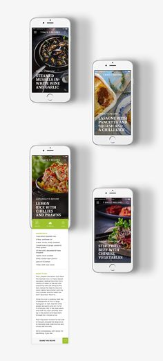 7 Days 7 Recipes - Concept on Behance