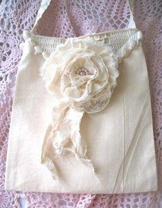 Crochet  Shoulder Sling Bag by simplyimpish on Etsy, $20.00