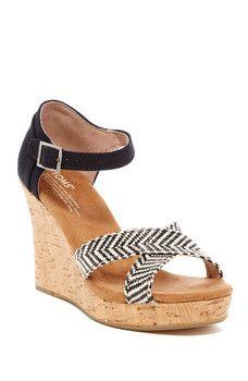 TOMS - Platform Wedge Sandal