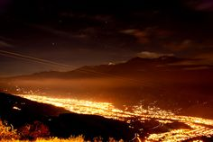 Mérida de Noche, (Venezuela)