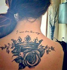 My third tattoo crown roses ladygaga I love it - Meine . - My third tattoo crown roses ladygaga i love it – My third tattoo crown roses la - Dope Tattoos, Dream Tattoos, Pretty Tattoos, Beautiful Tattoos, Body Art Tattoos, Sleeve Tattoos, Tattoo Arm, Tattos, Skull Tattoos