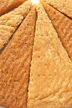 Solstice Shortbread Recipe with crystallized ginger [King Arthur Flour]