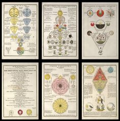 Ancient Secret Symbols | Secret Symbols of the Rosicrucians from the 16th and 17th Centuries ...