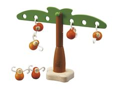 Fun and Educational Games for Toddlers - Plan Toys Balancing Monkeys Montessori Toddler, Montessori Toys, Toddler Toys, Kids Toys, Infant Toddler, Toddler Swag, Montessori Education, Children's Toys, Kids Education