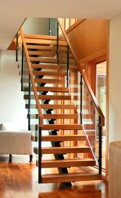 Central Stringer Stair