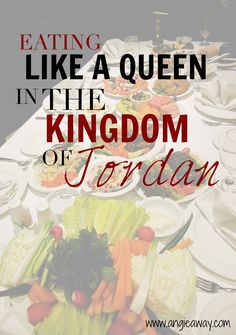Jordan - one place you don't go if you want to lose weight!