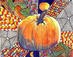 """""""HAPPY HALLOWEEN..."""" by Margaret Storer-Roche, via Flickr.  Love this - deserves a time commitment for instruction and creation!"""