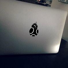 Star Wars BB-8 MacBook Decal. Link in bio.