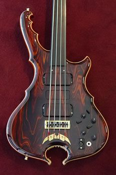 Alembic special custom fretless.