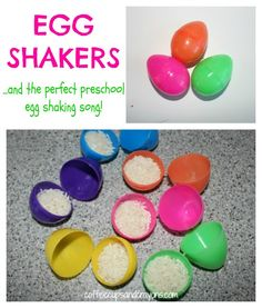 How to make egg shakers | Coffee Cups and Crayons