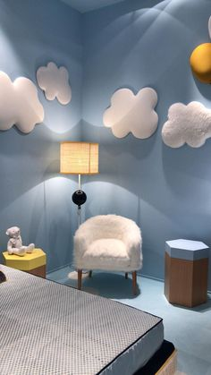 Click in the image to find more kids bedroom inspirations with Circu Magical Furniture! Be amazed with Circu Magical furniture and their luxury design: CIRCU. Childrens Room Decor, Baby Room Decor, Diy Bedroom Decor, Cloud Bedroom, Kids Room Furniture, Rustic Furniture, Bedroom Furniture, Lego Bedroom, Minecraft Bedroom