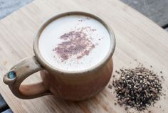 Homemade Dirty Chai Latte via This Organic Life #healthy #chai #chailatte #dirtychai #tea #latte #make #yum #seasonal