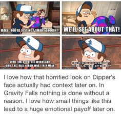 I've been there too Dipper. You want to lose your identity or what defines you as you.
