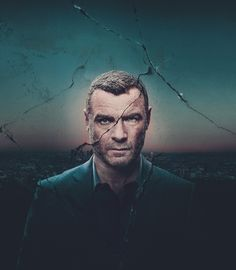 Liev Schreiber photographed by Kurt Iswarienko, a Walter Schupfer artist for the Showtime series Ray Donovan