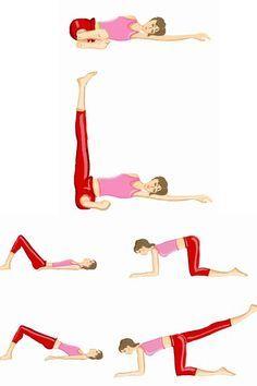 Pour des fesses galbées et tonique, voici des exercices ciblés à réaliser chez soi.