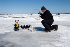 Ice Fishing Want to find out fishing secrets that will help you catch ore and bigger fish. Find out at howtocatchfishnetwork.com