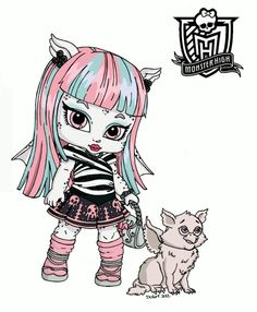 23 best Small monster high images on Pinterest | Colouring in ...