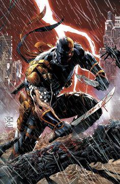 #DEATHSTROKE NEW YORK COMIC - La casa editrice DC Comcis ha presentato un'anteprima della nuova serie NEW52 di Deathstroke al New York Comic Con - http://c4comic.it/2014/10/12/nycc-dc-comics-deathstroke-la-nuova-serie/