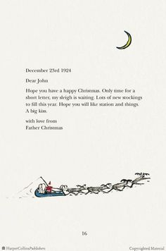 Browse Inside Letters from Father Christmas, by J R R Tolkien, a Paperback from HarperCollins UK, an imprint of HarperCollins Publishers