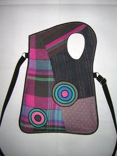Bohemian Recycled Crossbody plain Bag cheerful Medium от mocsi61
