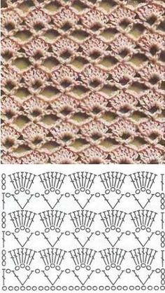 Crochet stitch diagram