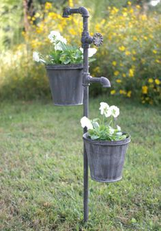Think SPRING! Faucet Planter