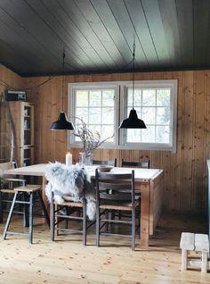 Gravity Interior : Norwegian cottage via ELLE Decorations