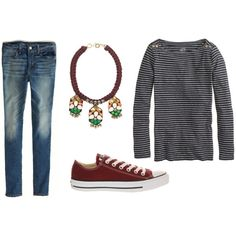 """""""Casual Spring Outfit"""" by briannelee on Polyvore"""